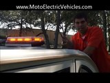 Golf Cart Accessories   LED Light Bar From Moto Electric Vehicles