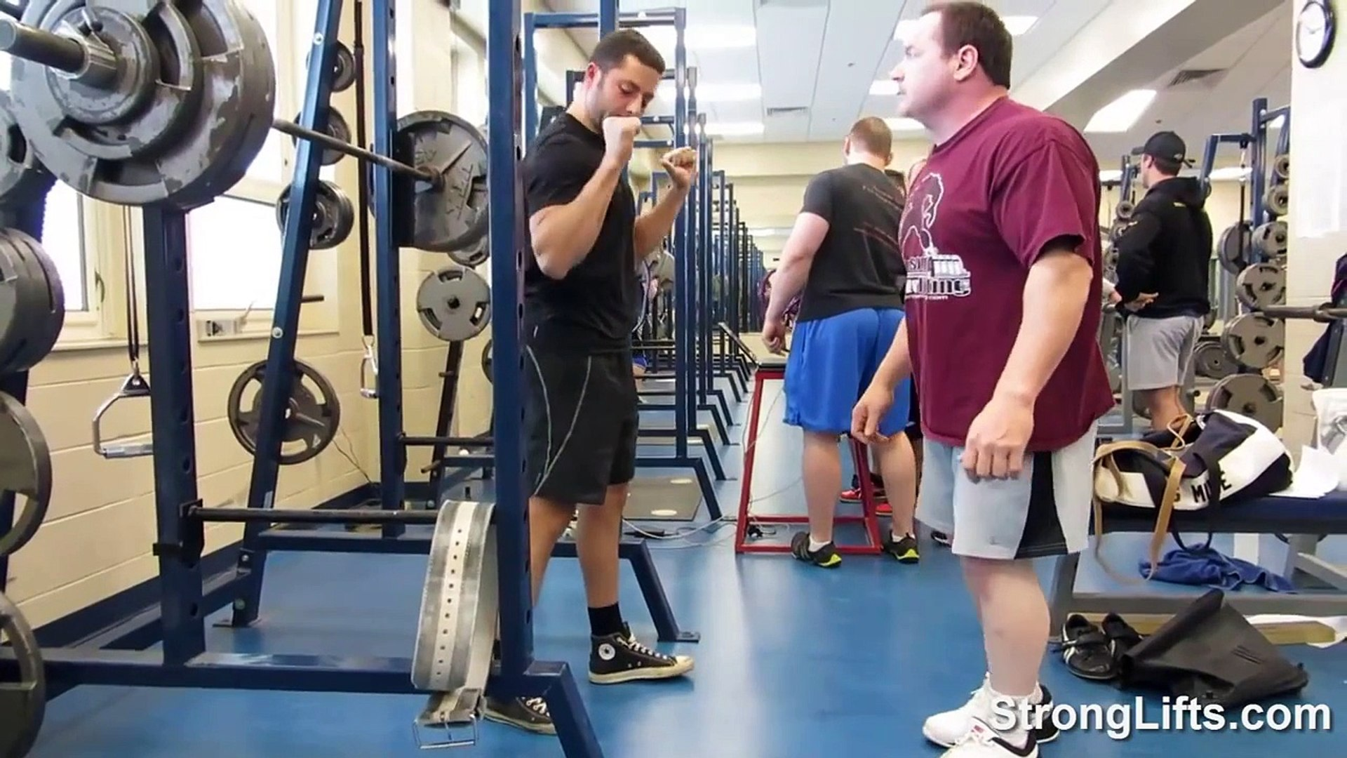 Mehdi Squatting, Ed Coan Spotting | StrongLifts