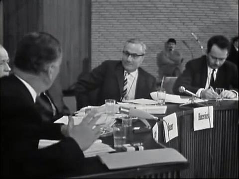 Podiumsdiskussion mit Fritz Bauer, Gerd Bucerius, Ralf Dahrendorf u.A. (Teil 2 von 2)