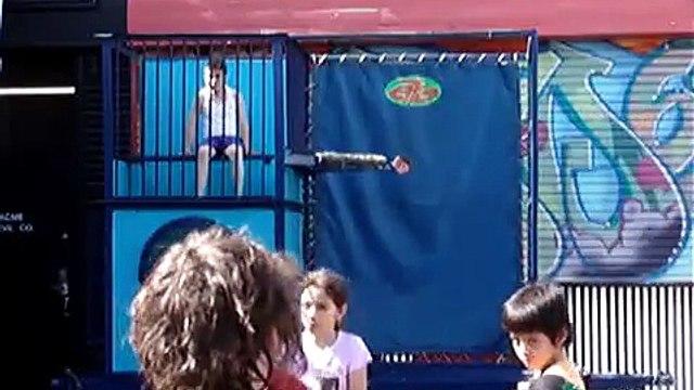Kids getting dunked