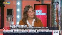 Métiers d'art, Métiers de luxe: Créatrice de robes de mariées, Elise Hameau – 27/07