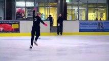 """""""Ich wollte nicht nur geradeaus laufen"""" - Hobby Eiskunstlauf"""
