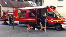 Intervention des pompiers pour risques chimiques