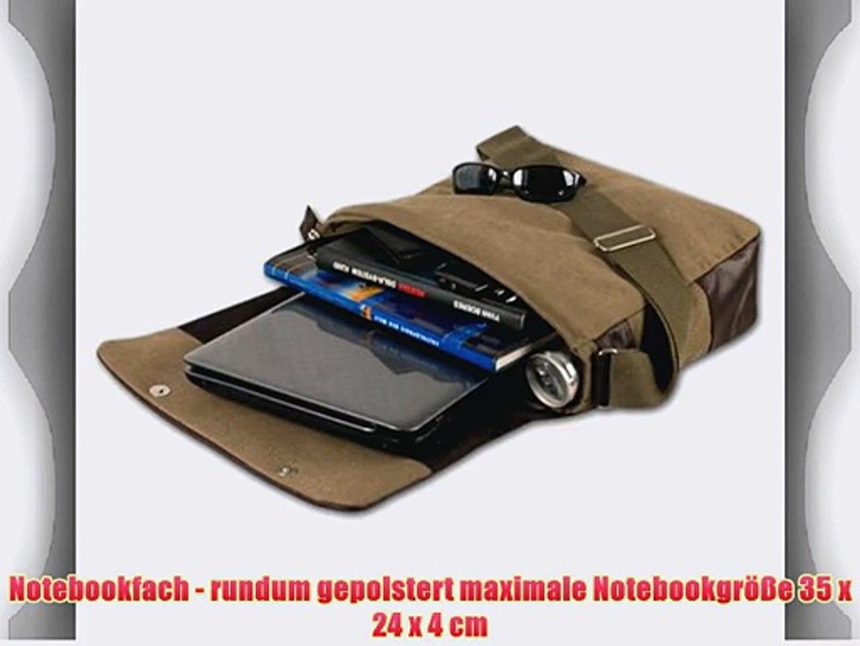DANIEL RAY Umh?ngetasche NEVADA L Schultertasche Laptop Tasche Beige Desert