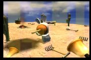 Rayman Raving Rabbids PS2 Gameplay Day 7 Bunnies like surprises.ASF