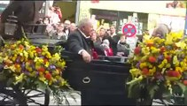 Oktoberfest München 2013 - Wiesn-Einzug der Festwirte und Brauerei - Frau Dr. Angela Merkel