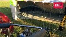 La préparation des montgolfières au Lorraine Mondial Air Ballons