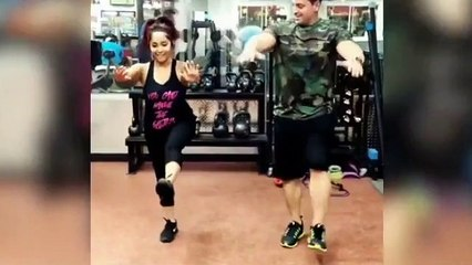Get fit the Jersey Shore Snooki way!