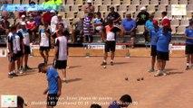 Premier tour, deuxième phase, France Quadrettes, Sport Boules, Saint-Denis-lès-Bourg 2015
