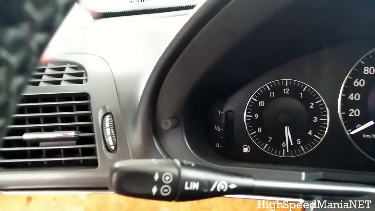 [TUTORIAL] HOW TO CHECK OIL LEVEL - Mercedes E320 CDI (W211)