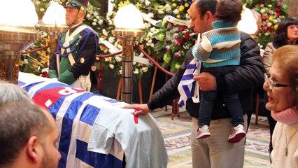 último  adios a  Alcides Ghiggia
