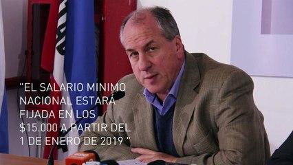 Murro y  Ferreri explican las pauta salariales