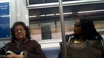 Just another ride home on nyc subway 6 train