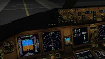 Let´s Play FSX [Flug 14 Part 1] PMDG 777-200F Frankfurt-Dubai