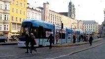 Strassenbahn in Linz (Österreich)