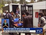 La Senain permitió el ingreso de periodistas a sus instalaciones