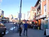from Rideau Centre to Byward Market in Ottawa CANADA