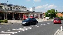Einsatzfahrt Feuerwehr Kappern Stadtgemeinde Marchtrenk zu