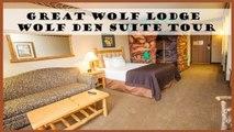 BG Travel: Great Wolf Lodge Wolf Den Suite Room Tour