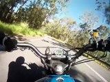 1978 Honda CB400T Ride around Mt Cootha Brisbane