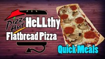 Quick Meals: Pizza Hut Style Flatbread Pizza - HellthyJunkFood