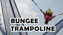 Sun Peaks In Summer -  Bungee Trampoline Double Back Flips by Bethany G