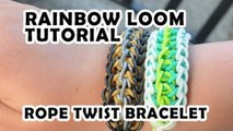 Rainbow Loom Tutorial - Rope Twist Bracelet by Bethany G