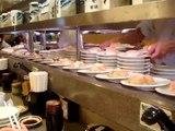 Restaurant KAITEN SUSHI o SUSHI GIRATORIO o GO ROUND SUSHI