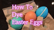 How to Dye Easter Eggs | Egg Decorating with Bethany G
