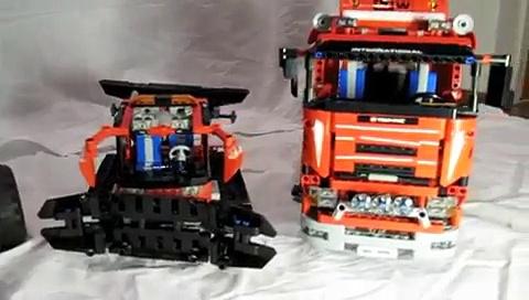 Lego Technic vehicles