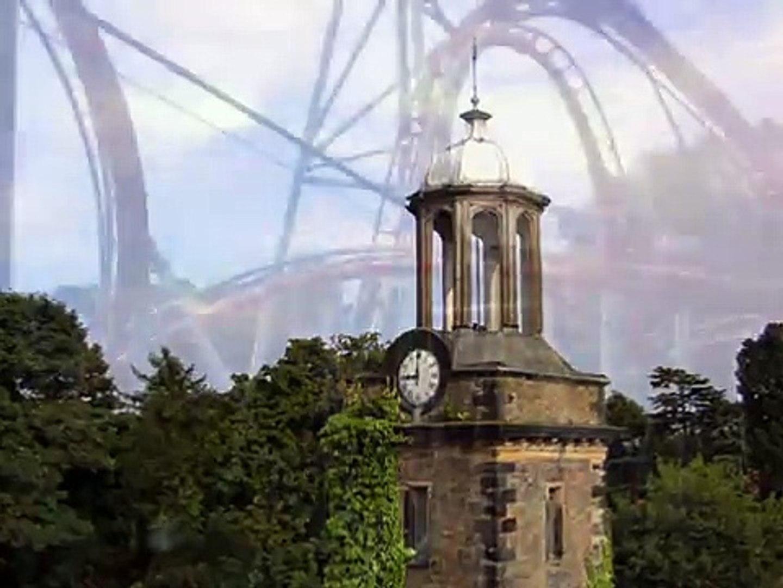 Drayton Manor Theme park UFO's!!