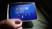 Sony Xperia Z4 2015 tablet   Unboxing