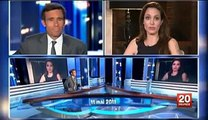 Angelina Jolie, Jack Black and Dustin Hoffman interview France 2 - Kung Fu Panda 2