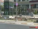 Vatan Caddesi'ndeki bebek arabası fünye ile patlatıldı
