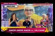 """Amor Amor Amor: Conductores de """"Amor Amor Amor"""" y """"Sálvame"""" se insultan en vivo 4 - 5 [21-06-2012]"""