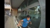 Zero Limite Parkour & Freerunning Rancagua Entrenamiento Plaza los heroes