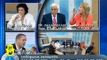Greek Neo-Nazi 'Golden Dawn' Spokesman Punches Female Politician a Live TV Debate, Throws Water