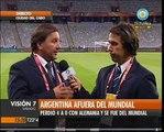 Visión Siete: Argentina quedó eliminada del Mundial