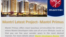 Mantri Developers Review - A Famous Real Estate Company in Noida