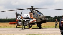 RNLAF AH-64D Apache Solo Display 2013