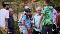 Hilarious old man skateboard prank leaves punk skaters with their mouths open