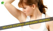 Tips for Stopping Underarm Sweating | Best Health Tips | Educational Videos