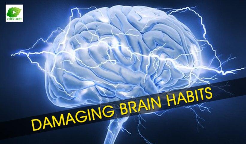 Most Damaging Brain Habits | Best Health Tips | Educational Videos