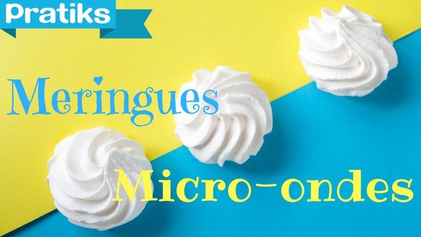 L'astuce pour faire des meringues au micro-ondes