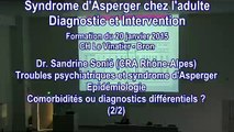 Troubles psychiatriques et syndrome d'Asperger : Epidémiologie - Co-morbidités ou diagnostics différentiels ? - Dr. Sandrine Sonié, CRA Rhône-Alpes (2/2)