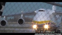 Antonov Airlines An-124-100 [UR-82009] Landing and Close Up Taxi at Calgary Airport ᴴᴰ