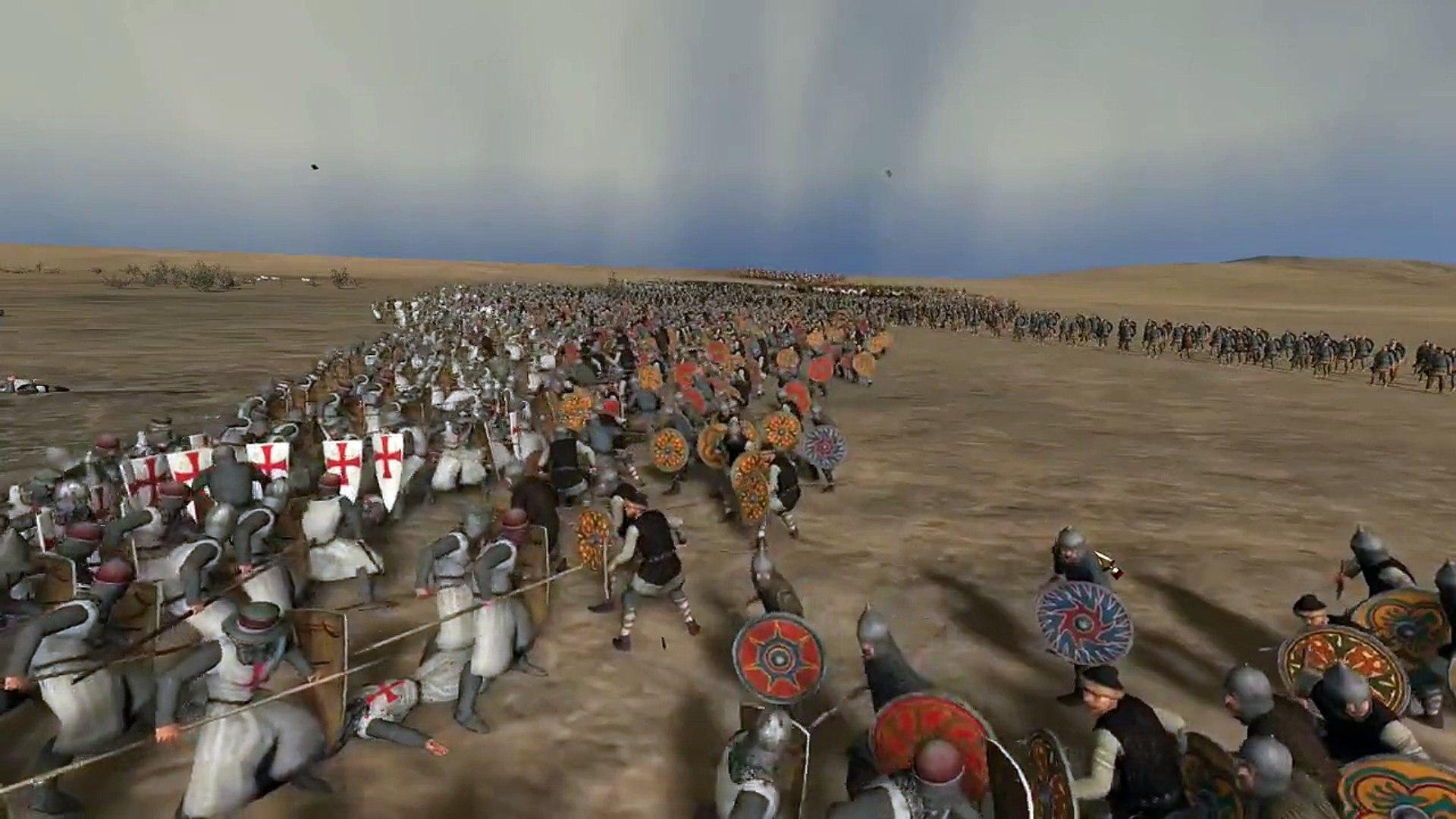 Crusader War - Video Game - War Game - Strategy Game -  Action Game - Shooting Game