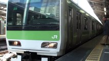 【JR東】山手線内回り 東京 Japan Tokyo JR Yamanote Line Trains