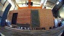 Maison Ginkgo, les maisons en bois modulaires. réalisation vidéo AVR COM