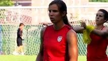 Studio 90: U.S. Women's National Team Jersey Girls Return Home